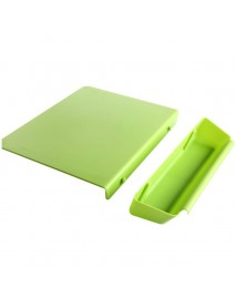 2 in 1 Thickened Antibacteria Cutting Board Collecting Board Kitchen Tool