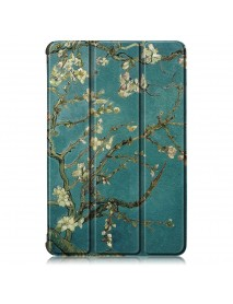 Apricot Blossom Tri Fold Case Cover For 10.8 Inch HUAWEI MatePad Pro Tablet