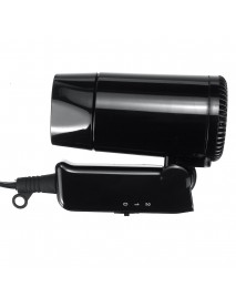 12V Electric Car Hair Dryer 2 Gears Mini Foldable Low Noise Hairdressing Blower
