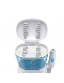 600ML Electric Teeth Cleaner Dental Flosser Washer Jet Tip Household 10 Setting Water Folsser