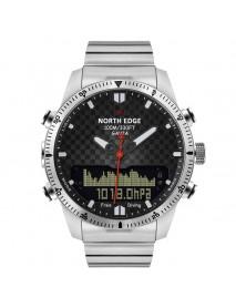 NORTH EDGE Digital 50M Dive Watches Men Altimeter Compass LED Sport Smart Watch
