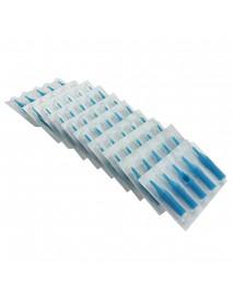 100Pcs RL RS M1 Needle + 100Pcs Tattoo Nozzle Tip RT DT FT Plastic Disposable