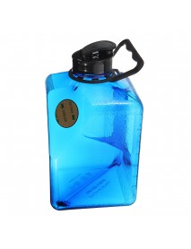 2.7L Water Bottle Sports Outdoor Plastic Camping Gym Training Cup Kettle Workout