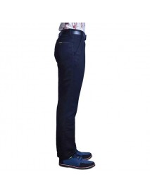Men's Casual Straight Mid-waist Trousers Fashion Business Loose Pants
