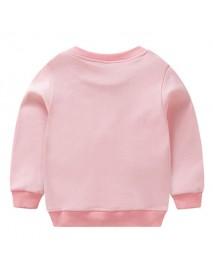 Kid Girls Long Sleeve Star Pattern Cotton Sweatshirt