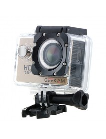 GEEKAM A9 1080P HD Waterproof Outdoor Sports Video Action Camera