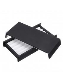 5 Strip Jewelry Box Display Tray Stone Storage Box Gem Show Case Holder Organizer