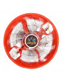 120mm 3 Pin LED Light CPU Cooler Cooling Fan for Intel 775/1155 AMD AM2/3