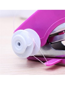 Portable Mini Manual Clothes Sewing Machine Handicraft DIY Sewing Tools