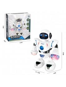 Astronaut Robot Toy Dancing Walking Flashing Lights Sounding Kids Toy