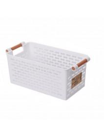 Plastic Kitchen Plastic Refrigerator Basket Fridge Storage Rack Freezer Shelf Holder Bathroom Desktop Storag Plastic Storage Case Organizer