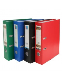A4 Large Lever Arch File Folder with Ring Binder and Metal Finger Pull