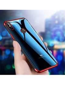 Bakeey Plating Shockproof Soft TPU Back Cover Protective Case for Xiaomi Redmi 6 Pro / Mi A2 Lite