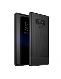 Bakeey Carbon Fiber Anti Fingerprint Soft TPU Protective Case For Samsung Galaxy Note 9