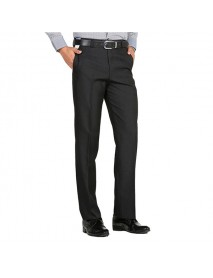 Autumn Spring Business Casual Men's Trousers Ironing Slim Stright Suit Pants