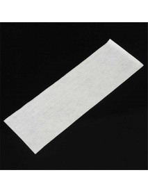 100PCS Hair Removal Depilatory Wax Strip Paper Nonwoven Epilator Waxing Salon Spa