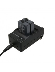 AHDBT-501 Battery Car Charger Dual Port Cradle for Gopro Hero 5 Black Action Sport Camera