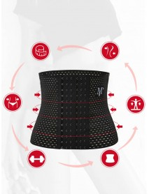 Plus Size Postpartum Tummy Control Front Closure Breathable Waist Trainer