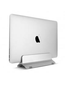 Aluminium Vertical Laptop Stand Holder Space Saving For Notebooks Macbook Pro/Macbook Air