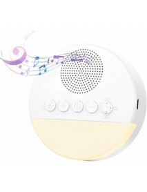 20 Soothing Sounds White Noise Machine Sleeping Aid Therapy Device Sleep Instrument with LED Night Light