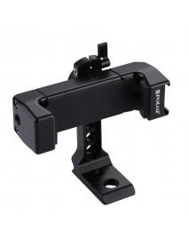 PULUZ PU367 360 Degree Rotating Universal Phone Metal Clamp Clip Holder Bracket for Smartphones