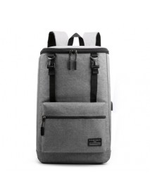 17 inch Laptop Bag with USB Charging Port Lagrge Capacity Nylon Classic Business Outdoor Stylish Backpack Scratchproof Breathable