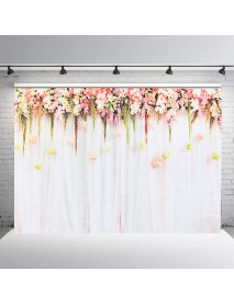 Romantic Rose Flower Photography Backdrops Background Wedding Decorations Engage