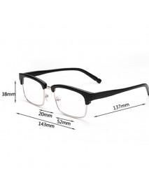 Men Women Casual Metal Reading Glasses Comfortable Anti-blue Light Presbyopic Glass