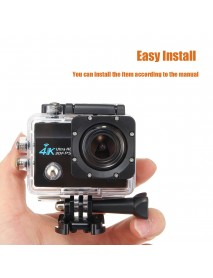2inch 1080P 60FPS 4K WIFI Wireless Action Sports Ultra HD Camera Waterproof Camcorder