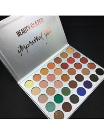 35 Colors Eye Shadow Palette Matte Shimmer Makeup Long-Lasting