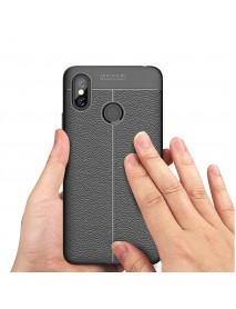 Bakeey Litchi Anti-fingerprint Silicone Protective Case For Xiaomi Mi Max 3