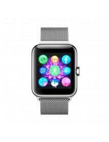 Bakeey 1.54 Inch IPS 2.5D Touch Screen GSM 32GB TFCard Support Sleep Monitor Locial SMS Watch Phone