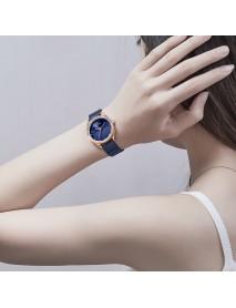 NAVIFORCE NF5015 Waterproof Ladies Wrist Watch Crystal Date Display Quartz Watch