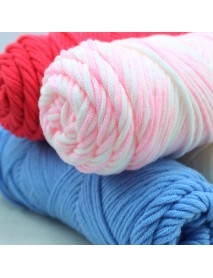 100g 23 Colors Long Stalped Cotton Soft Knitting Wool Yarn 8 Plied Yarn Scarf Hat Swater Yarn Ball