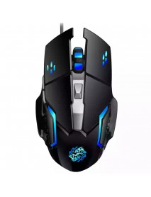 6 Buttons 2400DPI Adjustable USB Wired Optical Gaming Mouse for Desktop PC Laptops
