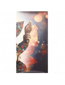 5PCS Frameless Elephant Trunk Modern Oil Paintings Art Canvas Home Wall Decor