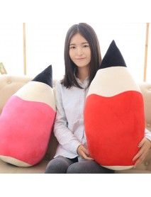 Creative Pencil Shape Pillow Seat Cushion Colorful Kawaii Cartoon Stuffed Plush Toy Novel Festival Gift