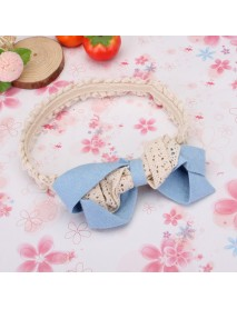 Children Girls Lace Decorated Flower Hair Band Hair Accessories
