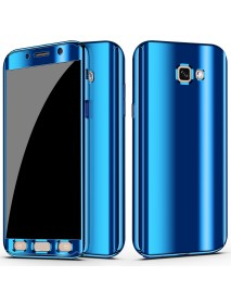 Bakeey Plating 360 Full Body PC Front+Back Cover Protective Case+HD Film For Samsung Galaxy A7 2017