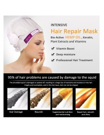 ELAIMEI Hair Repair Mask  Damage Nutritional Mask Free Steam Hair  Conditioner