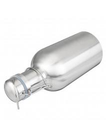 1L Single Layer Stainless Steel B eer W-ine Beverage Pot Bottles Barrel B-eer Pot