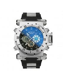 STRYVE S8015 5ATM SWISS Movement Chrono Date Week  Dual Display Digital Watch