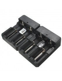 4.2V 800mAh 18650 Universal Dual Fixed Slot Battery Charger