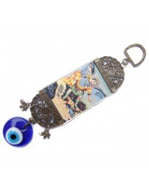 Turkish Blue Evil Eye Amulet Wall Hanging Home Decoration Lucky Protection Hanging Decorations