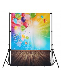 1.5x2.1M 5x7FT Balloon Pattern Vinyl Studio Photo Photography Background Backdrop