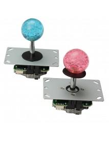 2 Player USB Bundle Kit 2 PC 4/8 Way Joystick Push Button for Arcade MAME Game