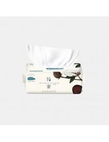 100 Pumps Disposable Face Towel Cotton Fiber Facial Cleansing Skin-friendly Disposable Wash Towel