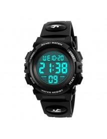 SKMEI 1266 Children Watch Outdoor Sport Fashion Multifunction Chronograph Waterproof Digital Watch
