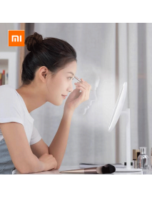 Xiaomi Mijia LED Make-up Mirror USB Type-C Charging 3 Light Mode Adjustable 900lm 45 Angle with Storage Panel Cosmetic Morror