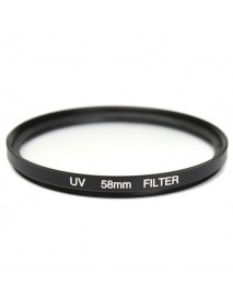 58mm UV CPL ND4 Circular Polarizing Filter Kit Set With Lens Hood For Canon Camera